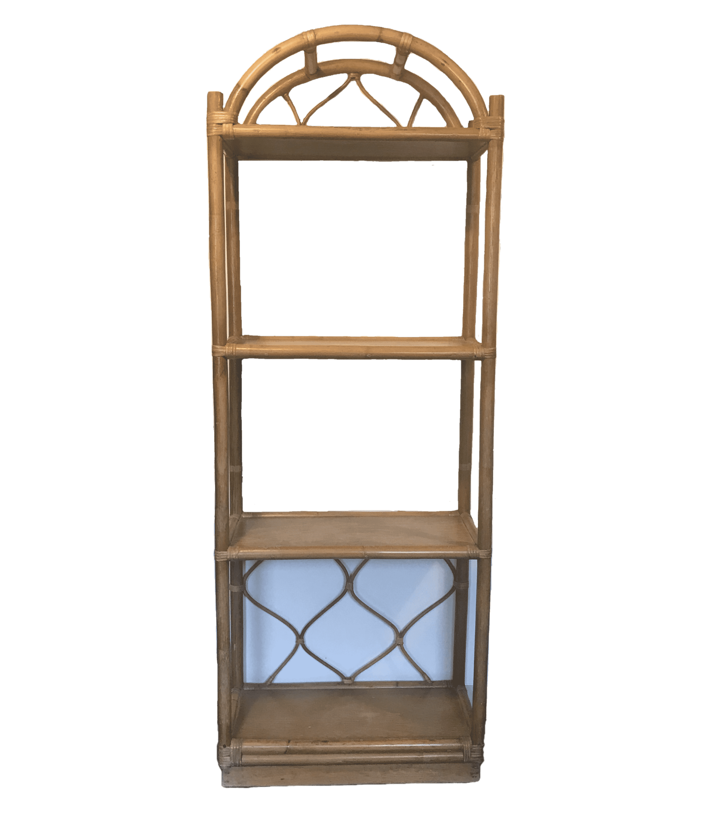 Boho Vintage Etagere Bookshelf Wedding Event Rental