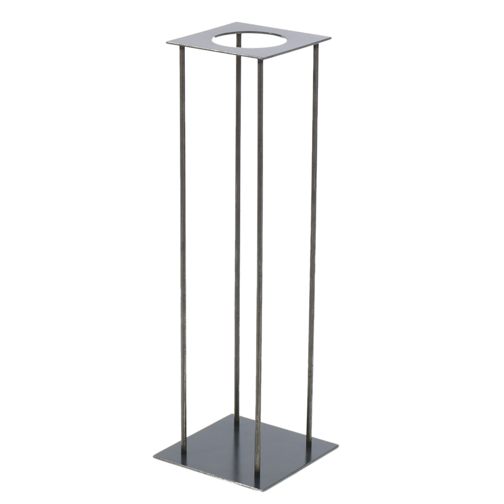 Centerpiece Silver Stand Wedding Rental