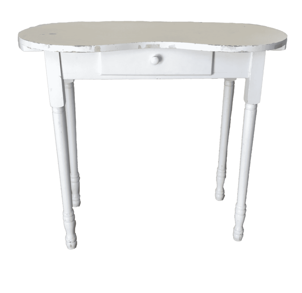 side table console desk wedding ceremony event rental