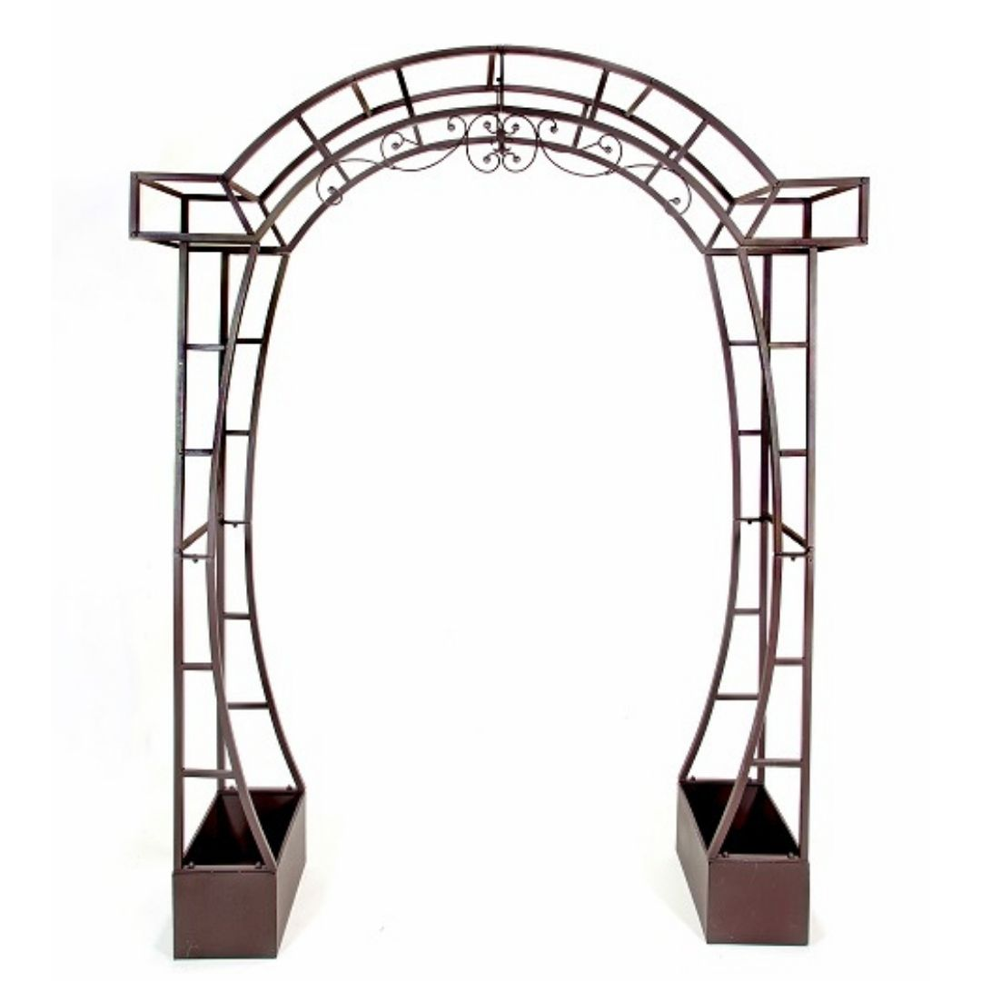 event decor rental wedding ceremony arch bronze altar