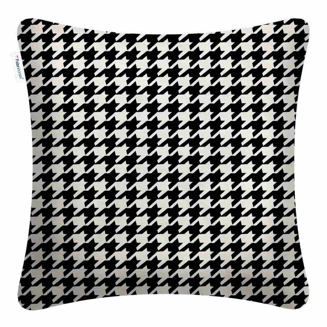 event decor rental black white pattern lounge throw wedding reception
